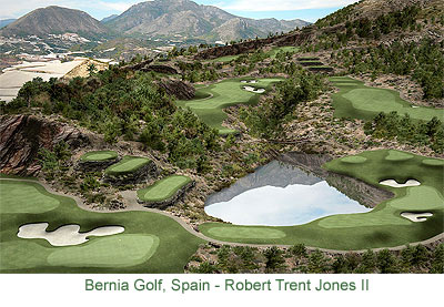 Bernia, Robert Trent Jones II